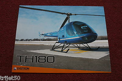 Enstrom TH180 Helicopter Poster