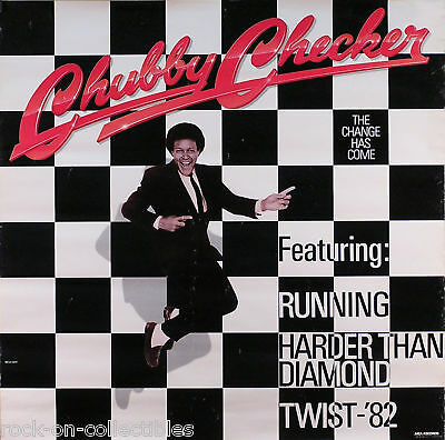 Chubby Checker 1982 The Change Has Come Promo Poster