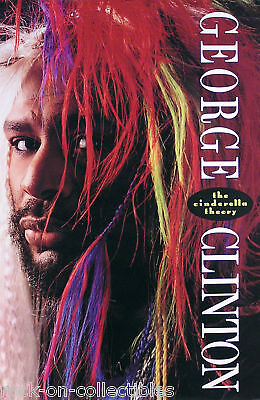 George Clinton 1989 The Cinderella Theory Promo Poster