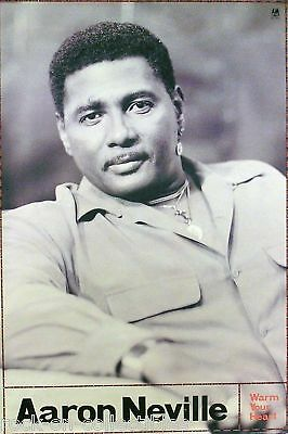 Aaron Neville 1991 Warm Your Heart Promo Poster