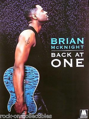 Brian Mcknight 99 Back At One Double Sided Promo Poster