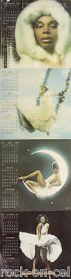 Donna Summer 1976 Four Seasons of Love Folded Calendar Poster Casablanca Records