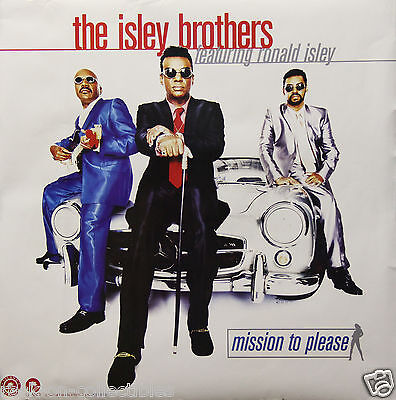 Isley Brothers 1996 Mission to Please Original Promo Poster