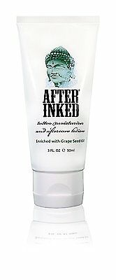 After Inked Tattoo Moisturiser and Aftercare Lotion 3 oz 90ml * Brand New *