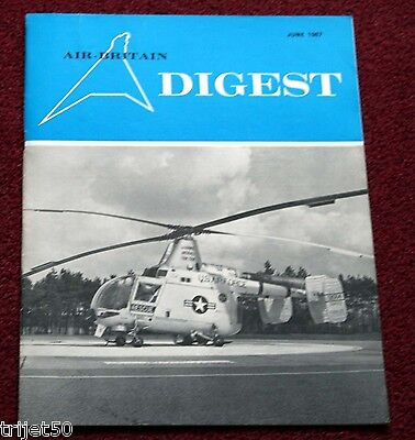 Air Britain Digest 1967 June Biggin Hill