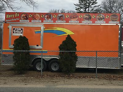 2012 Food Concession Trailer 8.5 X 22 Fully Loaded  Best Of Everything