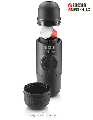 Wacaco Minipresso NS Portable Outdoor Travel Espresso Coffee Machine Maker