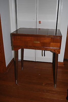 Sewing Machine Table Singer Mid Century 60-70's