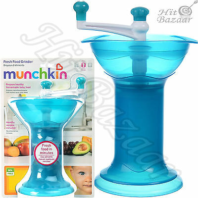 Baby Food Grinder Infant Feed Dining Cook Manual Kitchen Gadget Toddler Care