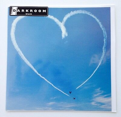 Lot Of 6 Pierre Belvedere Blank Greeting Cards - Contrail Heart Shape In The Sky