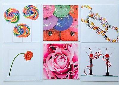 Lot Of 6 Pierre Belvedere Blank Greeting Cards Mixed Styles