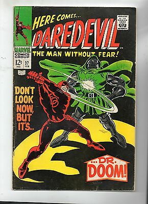 Daredevil # 37 / Fine- / Dr. Doom.