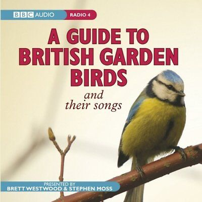 Guide to British Garden Birds by Brett Westwood New CD-Audio Book