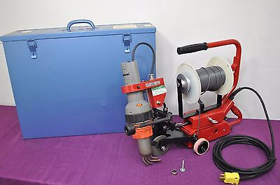 Zinser K58 Hot Air Plastic Welder Flooring Seam Filler walk behind tool Leister