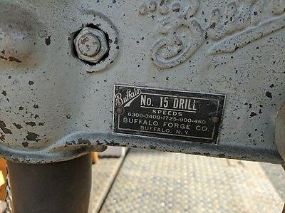 Vintage Buffalo Forge Drill Press #15
