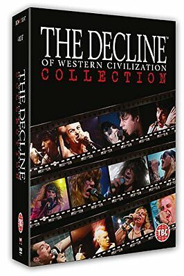The Decline of Western Civilization Collection: 4 Disc Box Set  New (DVD  2015)