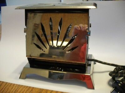 Vintage SUPER STAR Flapper Electric Antique TOASTER 2-Slice 475 Watt Art Deco NY