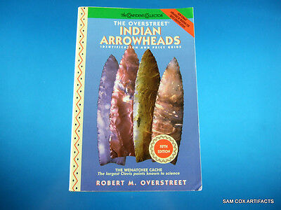 Overstreet Indian Arrowheads Price Guide #5 ''Very Good Overall Condition''