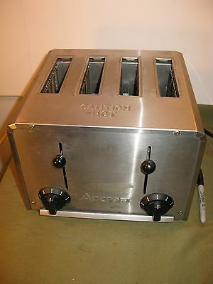 ADCRAFT CT-04 Restaurant Commercial 4 Slice Pop Up Toaster Diner Grill