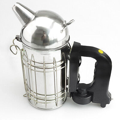 New-Stainless-Steel-Round-Outlet-Electric-Bee-Smoker-Hive-Smoke-Control-Machine