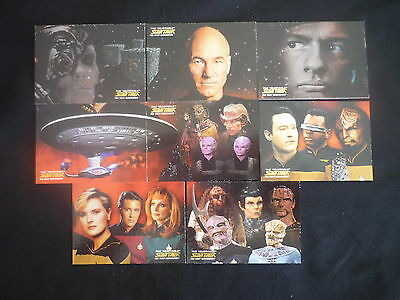 2005 Star Trek Quotable The Next Generation Final Frontier Chase Card Set (C1)