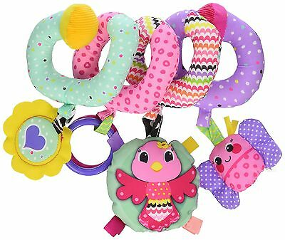 Baby Stroller Toy Infant Girl Car Seat Crib Spiral Activity Sensory Rattle Gift