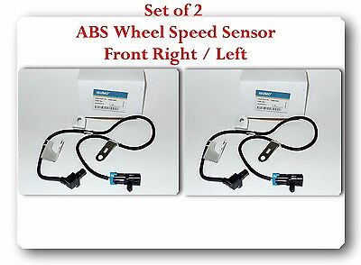 2 Kits ALS482 ABS Wheel Speed Sensor Front-Right & Left Fits: Chevrolet & GMC