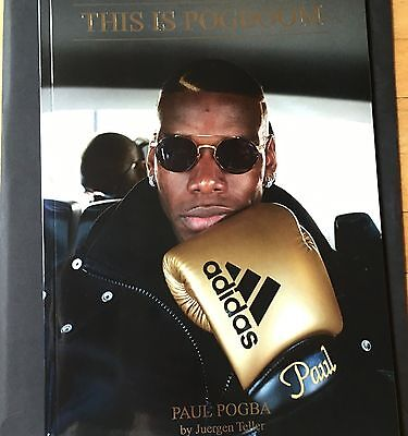"""Paul Pogba ADIDAS Juergen Teller """"This is Pogboom"""" RARE Limited edition zine"""