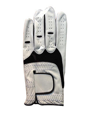 New Soft leather Men's Cabretta Golf Gloves - Left Hand with multiple size A++