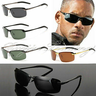 New 100% UV400 Men's Polarized Driving Outdoor Sports Sunglasses Fashion Glasses