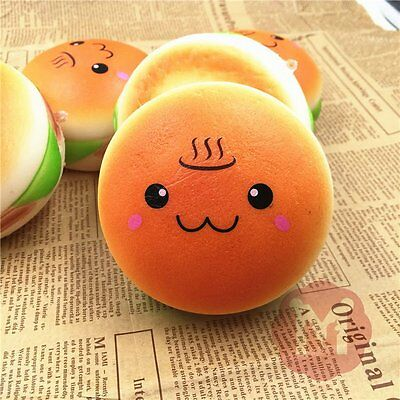 Stretch Squishy Bread Bun/Slippers/Onion Colossal Mango Slow Rising Scented Toys