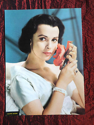 """Claire Bloom - Film Star - 1 Page Picture -"""" Clipping / Cutting""""- #2"""