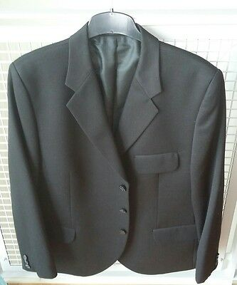 Kilt Jacket and Waistcoat 100% Wool, Black, Contemporary styling