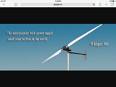 Whisper HP 500 Windturbine
