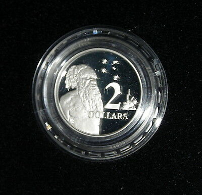 1988 Royal Australia Mint $2 Silver Proof Coin  Boxed W/ COA