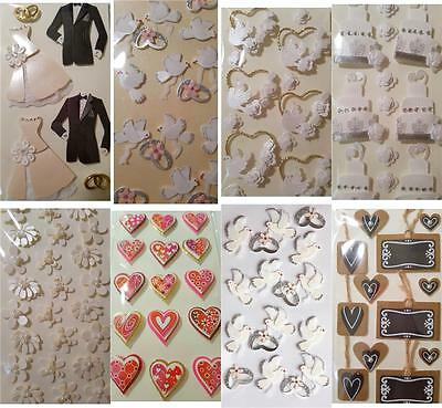 Small Shapes Embellishment Toppers Wedding To Decorate Albums Invites Favours