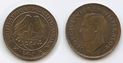G3157 - Südafrika 1 Farthing (¼ Penny) 1942 KM#23 South Africa
