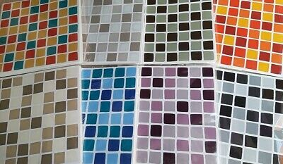 Self Adhesive Mosaic Tile Transfers Stickers Bathroom Kitchen Decoration
