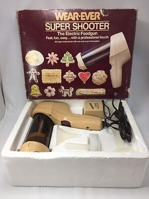 Complete Wear Ever Super Shooter Electric Foodgun Cookie Press 70123 Tested