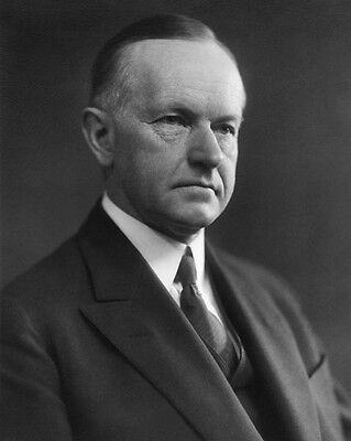 30th US President CALVIN COOLIDGE Glossy 8x10 Photo Political Print Poster