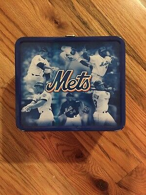 Mets Tin Lunch Box
