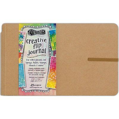 Ranger Ink Dylusions Creative Flip Journal Small dyj53576