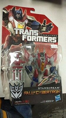 2012 Hasbro Transformers Starscream Fall Of Cybertron