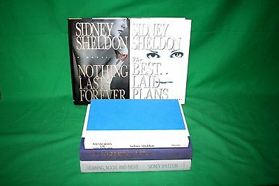 Lot Of 5 Sidney Shelton Hardcover Books Nothing Lasts Forever