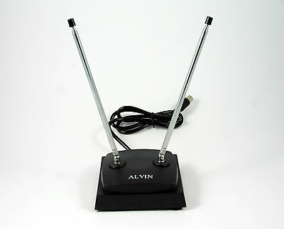Television Antenna - Indoor Rabbit Ears  (AS6P) VHF
