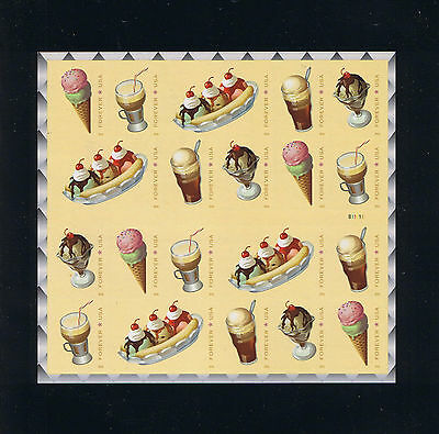 US #5097c 2016 Soda Fountain Favorites Self-Adhesive Booklet Plate #B11111