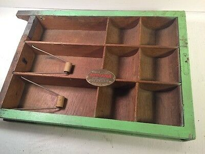 antique Indiana Cash Drawer Co cash box - drawer only