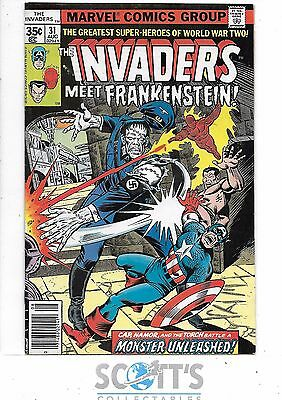 Invaders  #31  VG