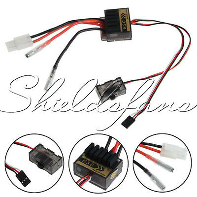 320A Speed Controller ESC For RC Car boart 1/8 1/10 Truck Buggy 4.8-7.2V