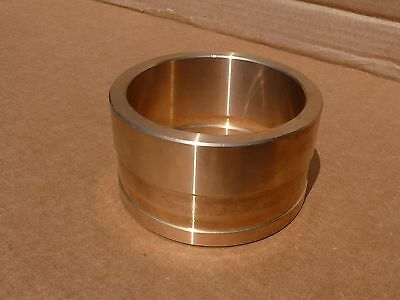 Bronze Bushing 4.722 OD x 3.560 ID x 2.6 Long with Recesses